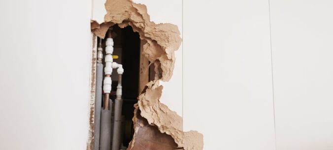 Busted Pipe Water Damage